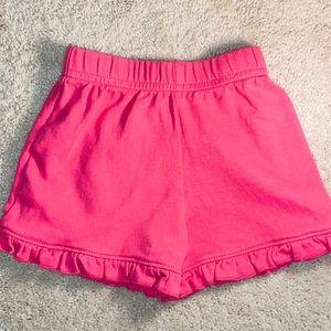 Baby Luigi Pink Ruffle Bottom Shorts 24 months